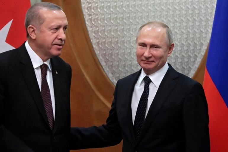 Moscow and Ankara brokered a deal in September to clear northern Syria of armed groups [Sergei Chirikov/Reuters]