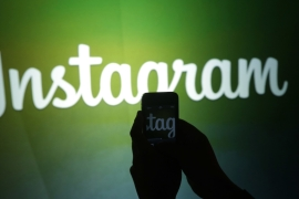 Instagram has denied claims it removed the controversial account at Indonesia's request [File: Marcio Jose Sanchez/AP]