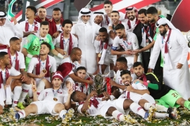 Qatar welcomes Asian Cup football champions home