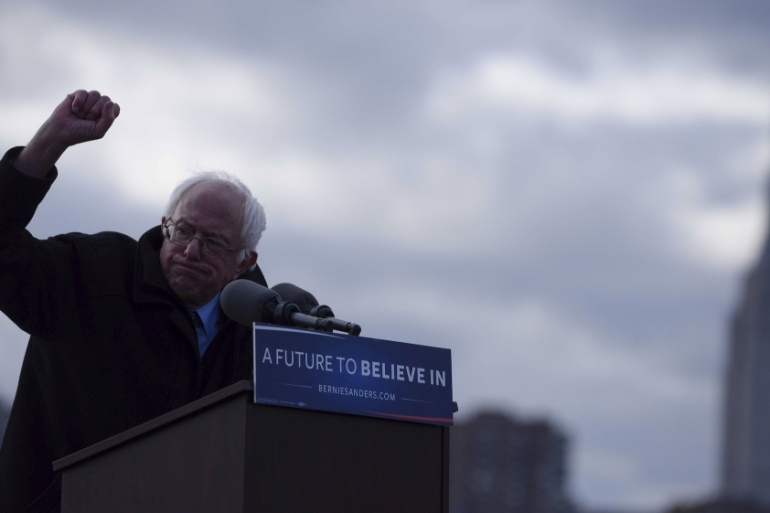 Since 2016, when Bernie Sanders used his White House bid to call for Medicare for All, the Democratic Party has bolted to the left writes Tzintzun Ramirez [File:Darren Ornitz/Reuters]