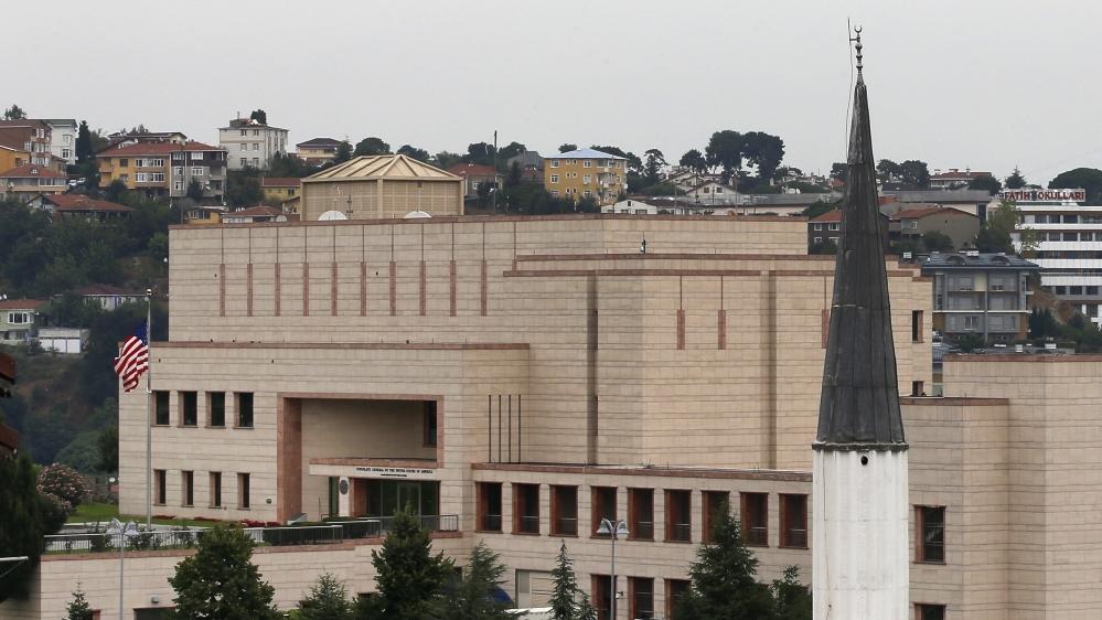 Us Embassy In Turkey Warns Of Terrorist Threat And Kidnappings Turkey Al Jazeera