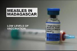 Madagascar government struggles to contain measles virus