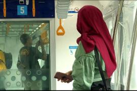 Indonesia opens new train system in Jakarta