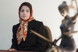 Sotoudeh, a winner of the European Parliament's Sakharov Prize, was arrested in 2018 [File: AP]