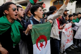 Algeria is set to hold a presidential election on April 18 [Zohra Bensemra/Reuters]