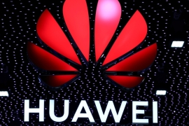 Chinese telecommunications firm Huawei and nearly 70 of its affiliates have been placed on a US blacklist [File: Sergio Perez/Reuters]