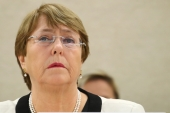 UN High Commissioner for Human Rights Michelle Bachelet [File: Denis Balibouse/Reuters]