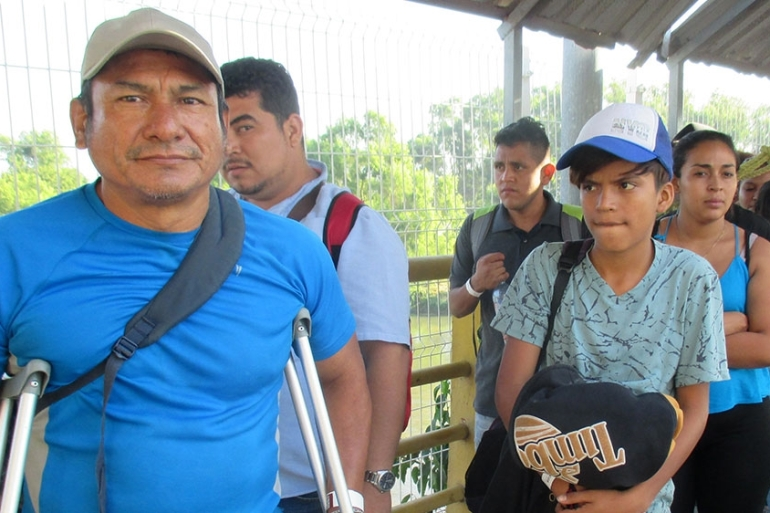 Now 53, Jose de Eugenio Lopez first left El Salvador when he was 14, fleeing war [Sandra Cuffe/Al Jazeera]