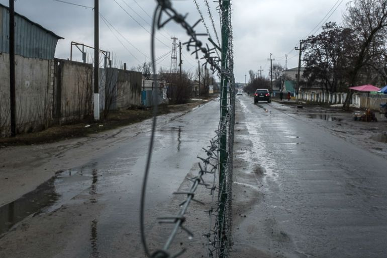 Milove, in the war-torn Luhansk region, has a population of about 6,000 people [Oksana Parafeniuk/Al Jazeera]