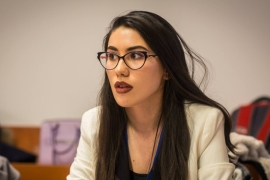 Student Adelina Budulan says she sees Brexit as a 'chaotic mess'  [Courtesy: Adelina Budulan]