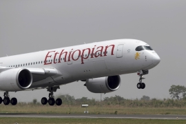 Ethiopian airlines has added new planes and new destinations and now carries more than 10 million passengers a year [Sunday Aghaeze/Nigeria State House via AP]