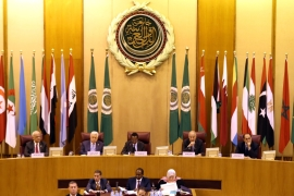 The Arab League rejected Trump's long-awaited peace place that will likely not include a sovereign Palestinian state, according to reports [Mohamed Abd El Ghany/Reuters]