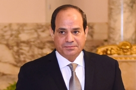 Sisi has presided over an unprecedented crackdown on dissent since the 2013 coup d'etat [Presidency of Egypt/Anadolu]