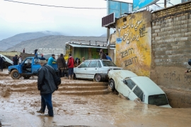 Since mid-March, massive floods have hit 26 of Iran's 31 provinces and caused widespread damage [File: Reuters]