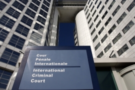 The entrance of the International Criminal Court is seen in The Hague, March 3, 2011 [File: Reuters]