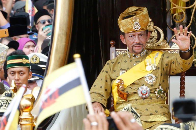 Brunei's Sultan Hassanal Bolkiah first announced plans for the new penal code in 2013 [File: EPA]