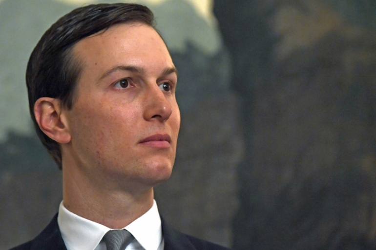 White House adviser Jared Kushner is leading a US delegation to the Middle East and North Africa [Susan Walsh/AP]