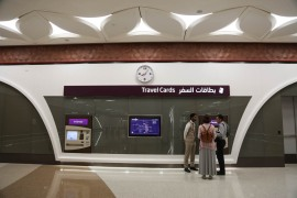 In standard class, one journey costs QR2 and a day pass costs QR6. [Showkat Shafi/Al Jazeera]