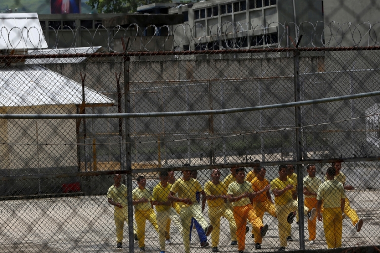 More than 400 people are believed to have been killed in Venezuelan jails since 2011 [File: Carlos Garcia Rawlins/Reuters]