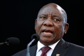 Ramaphosa initially told legislators that the payment was made to his son, Andile, for consultancy work [File: Siphiwe Sibeko/Reuters]
