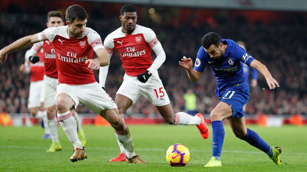 Arsenal Chelsea Square Off In All English Europa League