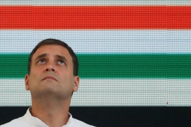 Rahul Gandhi won the seat in 2004, 2009 and 2014 and the constituency is considered one of the two Nehru-Gandhi family bastions [File: Adnan Abidi/Reuters]