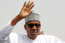 Nigeria's President Muhammadu Buhari won the presidential election in February 2019 [File: Reuters/Luc Gnago]