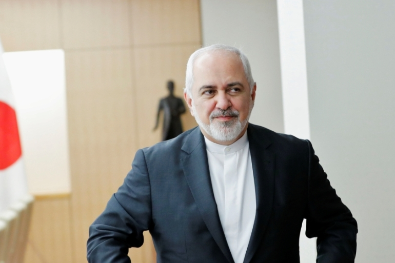Zarif is set to visit China for talks on Friday following visits to Turkmenistan, India and Japan in the past week [Kim Kyung-hoon/Reuters]