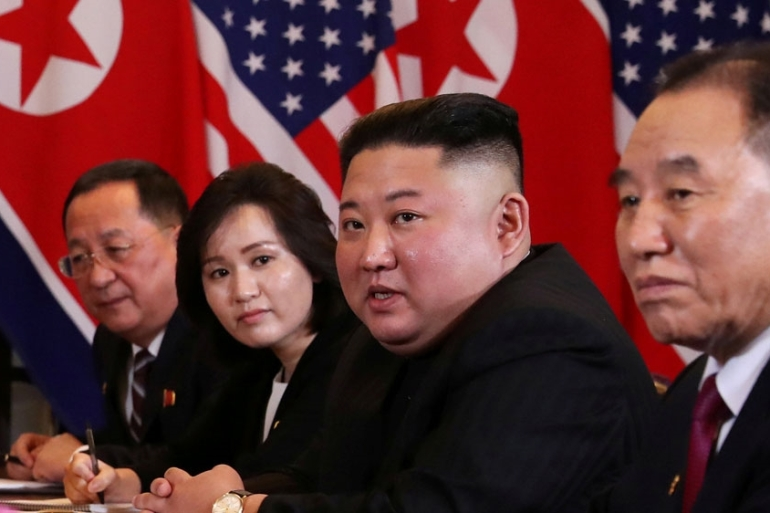 Kim held his first summits with the leaders of the US and South Korea last year [File: Leah Millis/Reuters]