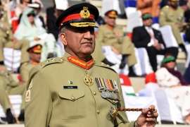 Bajwa stressed however that the burden was on India to create a 'conducive environment' for talks [File: Inter Services Public Relations via AP]