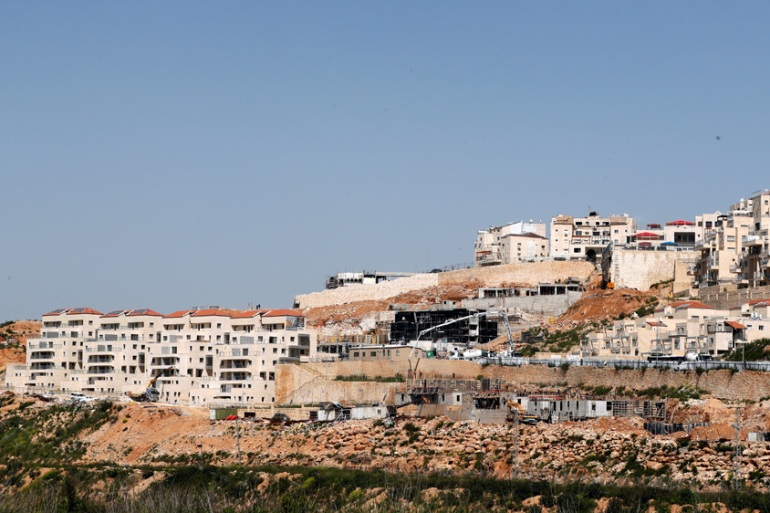 A general view shows the Israeli settlement of Beitar Illit in the Israeli-occupied West Bank [File: Ronen Zvulun/Reuters]