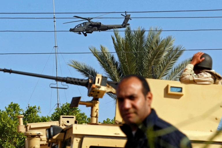 Egypt has for years been battling armed groups in the north of the Sinai Peninsula [File: Mohamed Abd El Ghany/Reuters]
