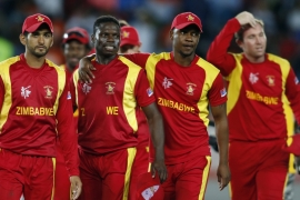 Zimbabwe played in every edition of the World Cup since 1983... until now [Nigel Marple/Reuters]