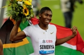 Semenya: 'All we ask is to be allowed to run free, for once and for all, as the strong and fearless women we are and have always been' [File: Moritz Hager/Reuters]
