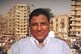 Mahmoud Hussein, an Egyptian journalist who works for the Al Jazeera Arabic television channel based in Qatar, was arrested on arrival in December, 2016 [Al Jazeera]