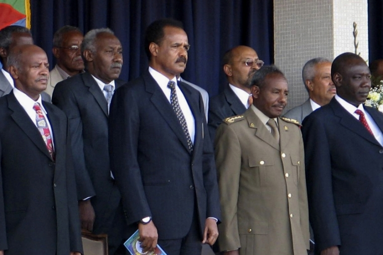 Eritrean President Afwerki attends the country's Independence Day celebrations in Asmara on May 24, 2007 [File: Jack Kimball/Reuters]