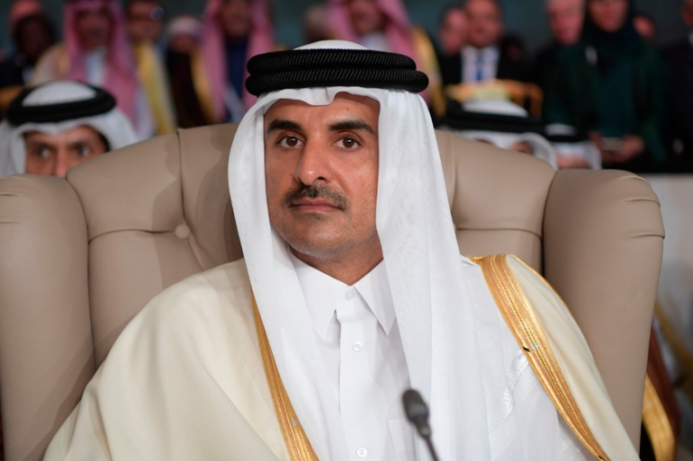 The participation of Qatar's Emir Sheikh Tamim bin Hamad Al Thani in the upcoming GCC summit would signal an easing of divisions within the bloc [File: Fethi Belaid/ Pool photo via AP Photo]