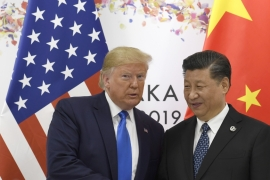 Trump met with Xi on the sidelines of the G20 summit in Osaka, Japan [Susan Walsh/AP]