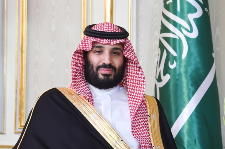 Saudi Arabia's Crown Prince Mohammed bin Salman has been accused of involvement in the murder of journalist Jamal Khashoggi [Fethi Belaid/AFP]