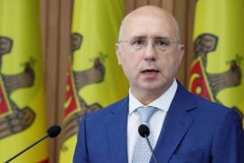 Moldovan acting President Pavel Filip said the decision was a 'long overdue commitment' [File: Valentyn Ogirenko/Reuters]