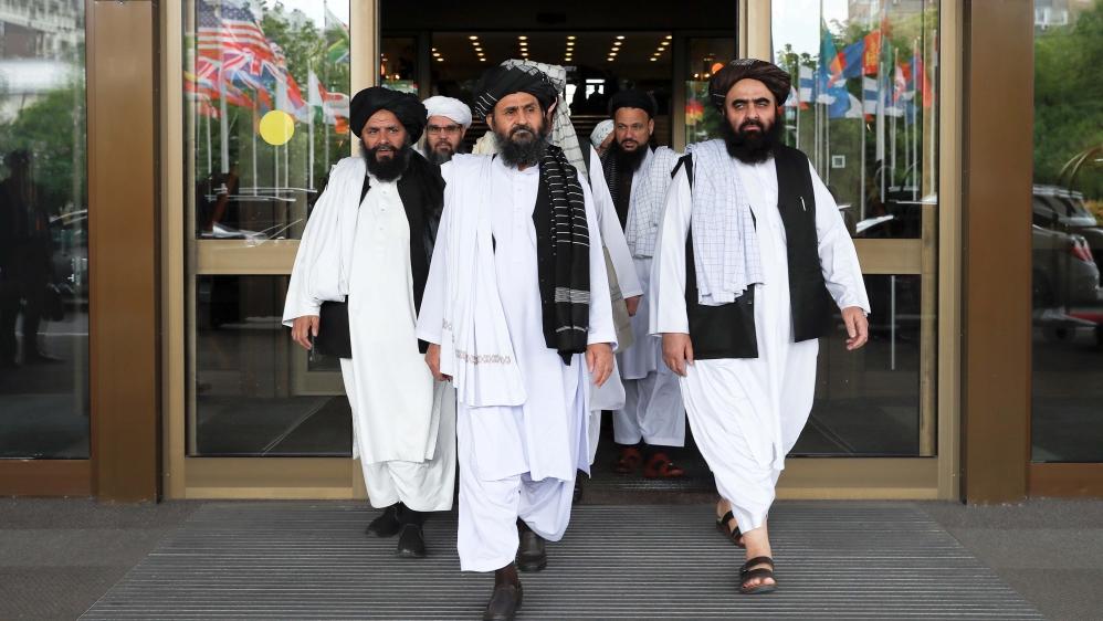 Iran's Zarif calls for 'inclusive government' in Taliban talks - Al Jazeera English