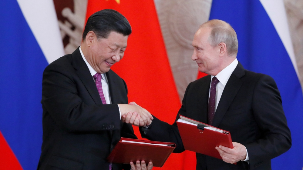 China's Xi Jinping visits 'best friend' Vladimir Putin | Vladimir Putin  News | Al Jazeera