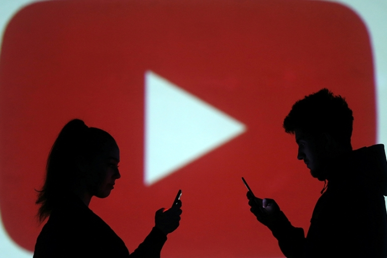 Video-sharing website YouTube is considering the removal of all children's content from its platform [Dado Ruvic/Reuters]