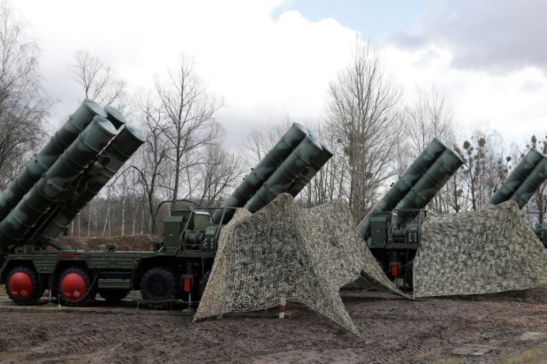 Turkey is set to carry out a radar test and possibly a live fire of its S-400 missiles [File: Vitaly Nevar/Reuters]