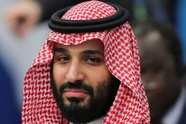 Saudi insiders and Western diplomats say the family is unlikely to oppose MBS while the king remains alive [File: Sergio Moraes/Reuters]