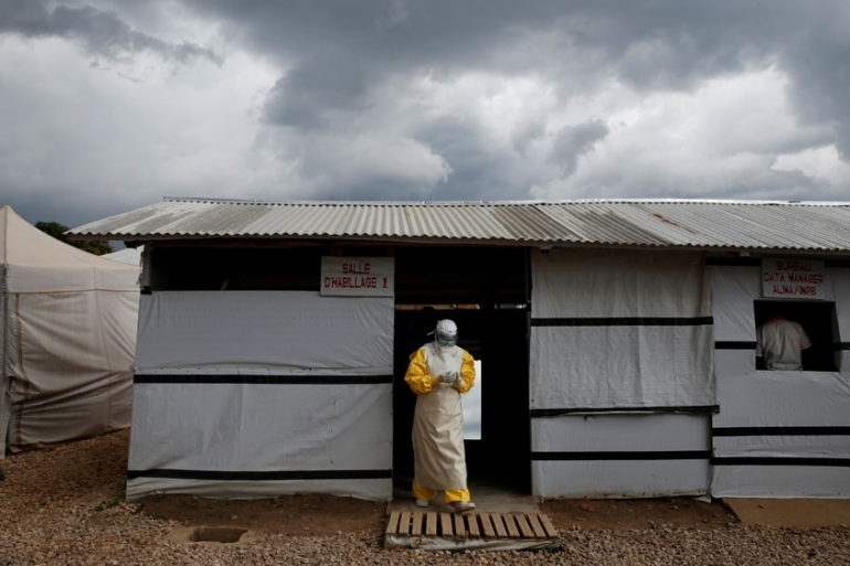 There have been more than 2,000 confirmed and probable cases of the Ebola virus in the DRC since August [File: Baz Ratner/Reuters]