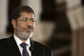 Egyptian President Mohammed Morsi was deposed in a coup led by his defence minister, Abdel Fattah el-Sisi, in July 2013 [File: AP/Maya Alleruzzo]