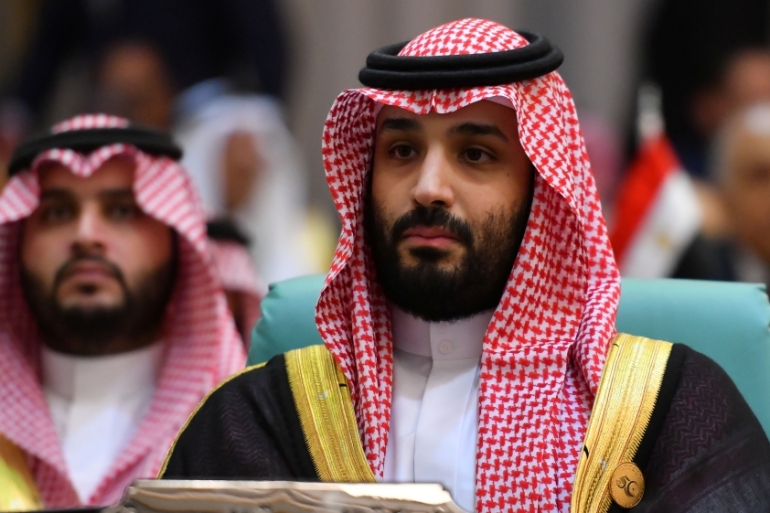 Saudi Crown Prince Mohammed bin Salman said Iran did not respect Japanese diplomatic efforts and responded by attacking tankers [File: Waleed Ali/Reuters]