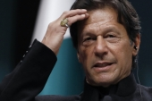 Pakistan's Prime Minister Imran Khan walked back on many of his campaign promises in his first year in office, writes Siddiqui [AP Photo]