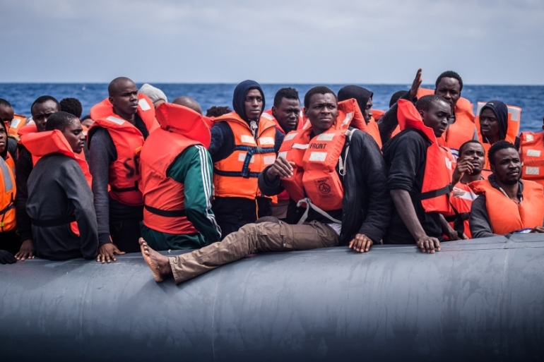 Nearly 700 deaths have been recorded in the Mediterranean so far this year [Christophe Petit Tesson/EPA]